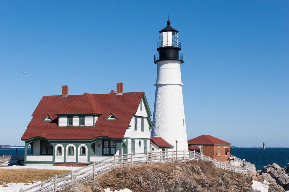 Portland Head Light House, Maine